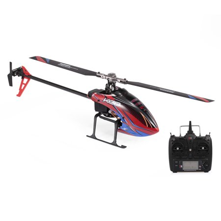 WLtoys XK K130 RC Helicopter 2.4G 6CH Brushless 3D6G Flybarless Compatible with FUTABA S-FHSS Stunt Helicopter RTF Toy