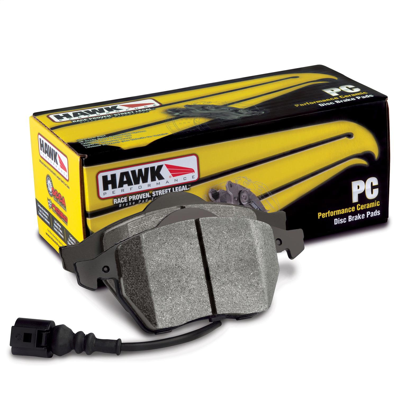 Front /& Rear Set Hawk Ceramic Brake Pads for 97-01 Acura Integra Type-R