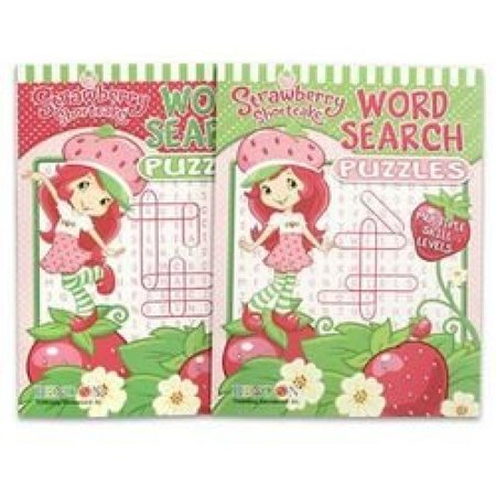 Strawberry Shortcake Jumbo 96 pg. Word Search Puzzle (Strawberry Shortcake Puzzle)