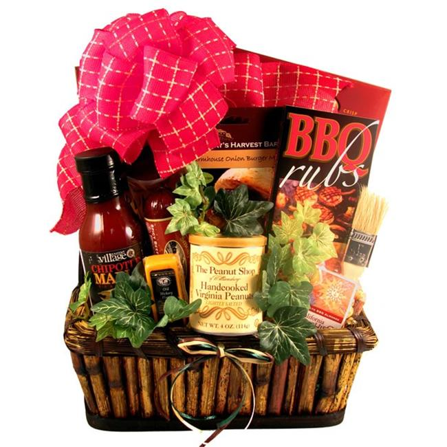 Gift Basket Drop Shipping GrMaDe-Sm The Grill Master, Deluxe Gift Basket For Him