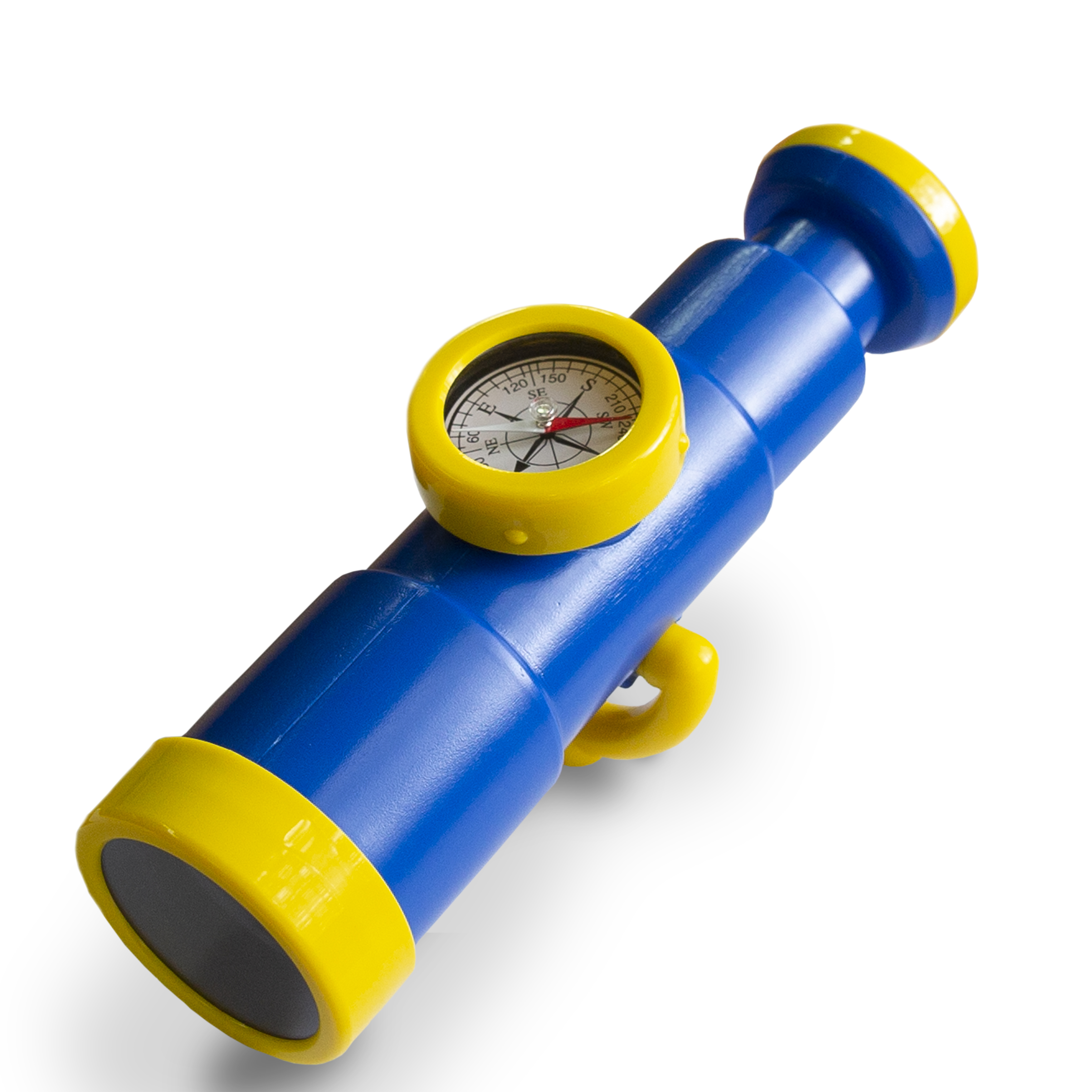 BLUE Telescope with compass for CLIMBING FRAMES outdoor toys