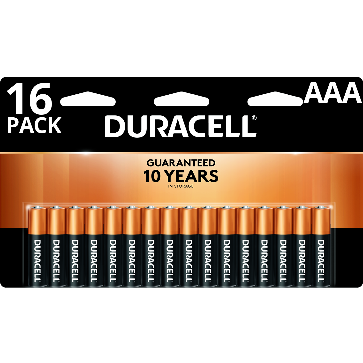 Duracell Plus Power AAA Battery Pack of 16
