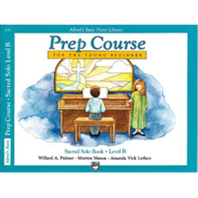 Alfred 00-6192 Basic Piano Prep Course- Sacred Solo Book B - Music Book