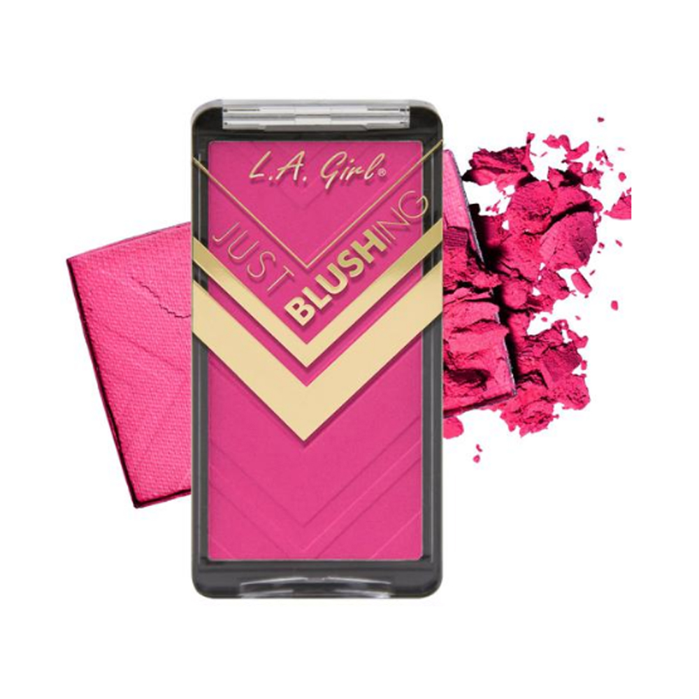 (3 Pack) LA GIRL Just Blushing Powder Blush - Just Love