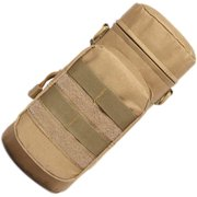 Outdoor Water Bottle Pouch Water Bags In Climbing Hiking Camping Water Bags Kettle Load Carrier Bag, Khaki
