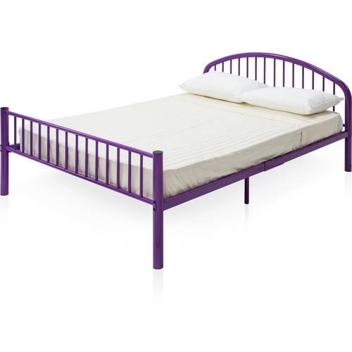Furniture of America Niko High Headboard Full Bed, Multiple Colors