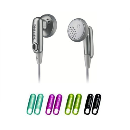 Mix Match Day (Philips SHE2610 5 Color Caps Mix & Match In-Ear Headphones (New Open)