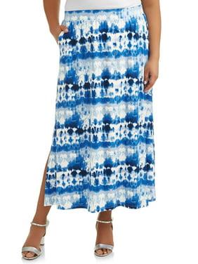 88e4e827cec Product Image Women s Plus Size Super Soft Knit Maxi Skirt