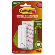 5PK Wire Backed Picture Hanger With Command Adhesive