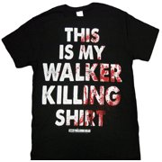 The Walking Dead This is My Walker Killing Shirt Men's Black Shirt