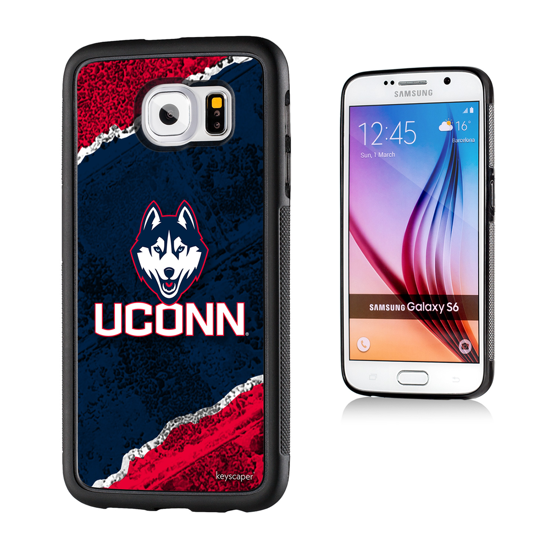 Connecticut Huskies Galaxy S6 Bumper Case