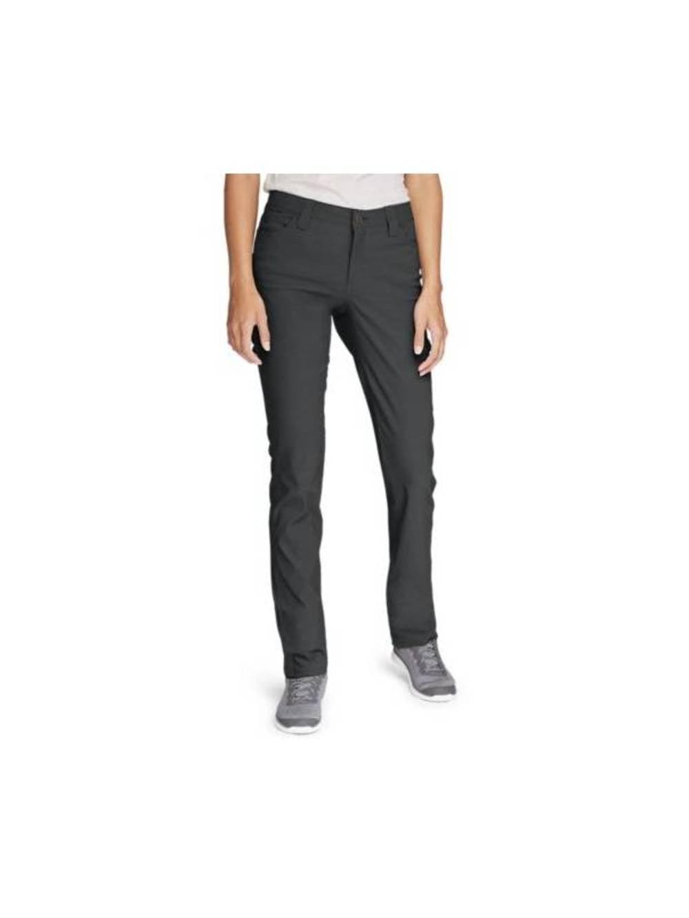 Eddie Bauer Womens Horizon Guide 5-Pocket Slim Straight Pants