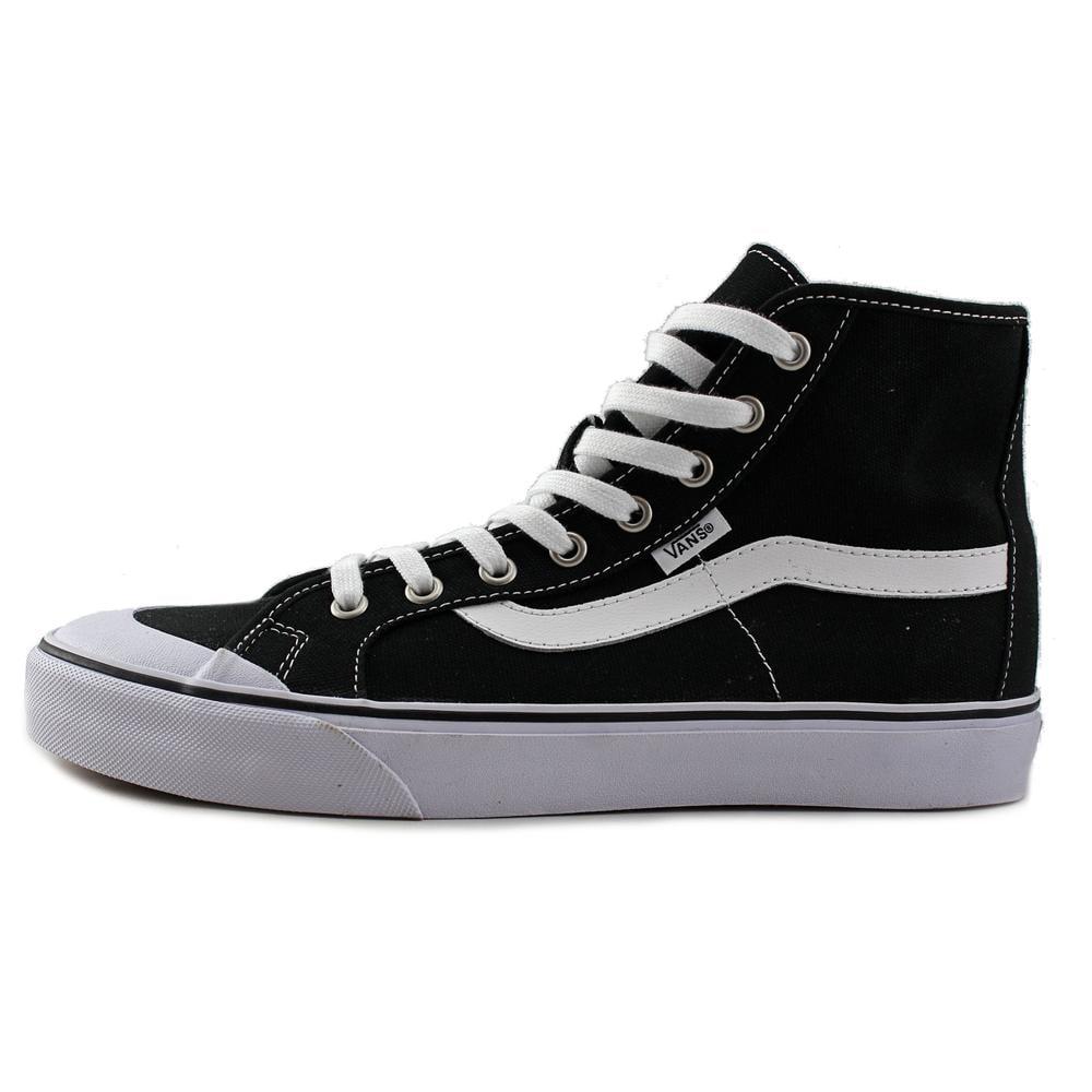 daf15d742a Vans - Vans Men s Black Ball Hi Sf Captain Fin   Ankle-High Fabric Fashion  Sneaker - 9.5M - Walmart.com