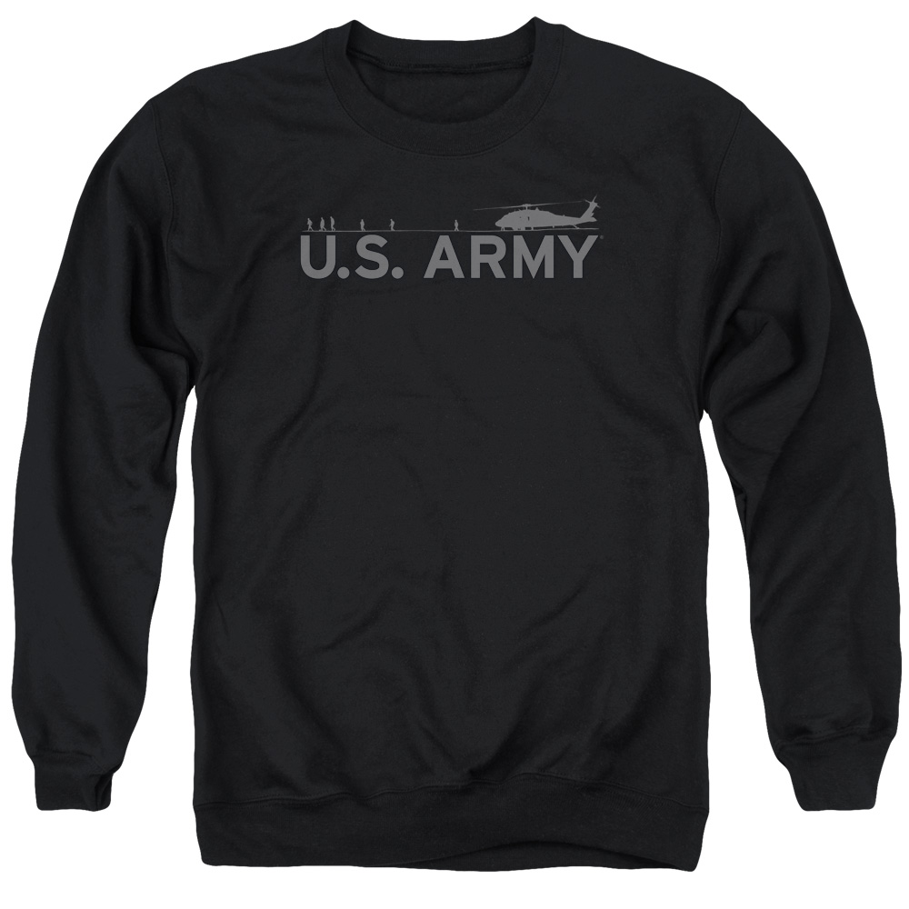 Army Helicopter Mens Crewneck Sweatshirt