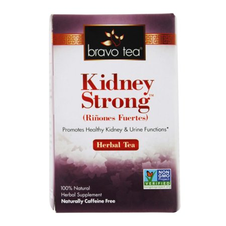 Bravo Tea Kidney Strong Herbal 100% Natural Supplement Tea Bags, 72 (Best Herbal Tea For Kidneys)