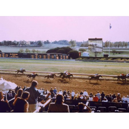 Keenland Racetrack, Lexington, KY Print Wall Art By Ken Glaser - Car Mart Lexington Ky