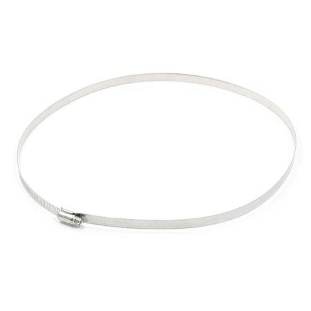 Unique Bargains Stainless Steel 283mm-311mm Hoop Ring Adjustable Pipe Fastener Hose Clamp