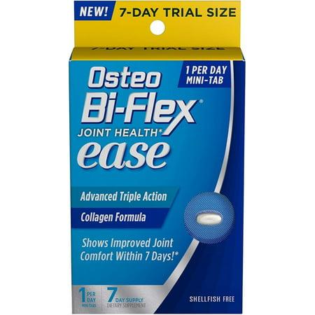 6 Pack - Osteo Bi-Flex Joint Health Ease Advanced Trial Tablets 7 ea