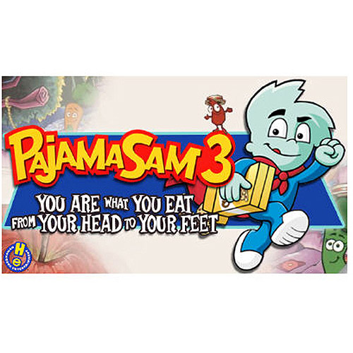 Tommo 58411024 Pajama Sam 3 You Are What You Eat (PC/MAC) (Digital Code)