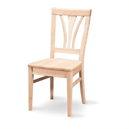 Unfinished Dining Room Chairs (Pemberly Row White Unfinished Fanback Dining Chair (Set of)