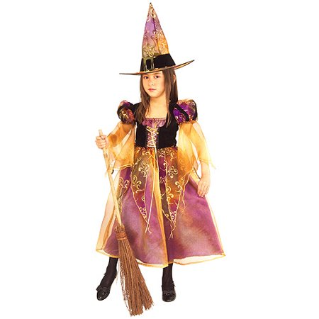 Elegant Witch Toddler Halloween Costume](Toddler Girl Witch Halloween Costumes)