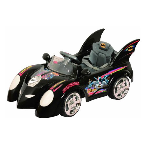Batmboile 6V Battery-Powered Ride-On, Black