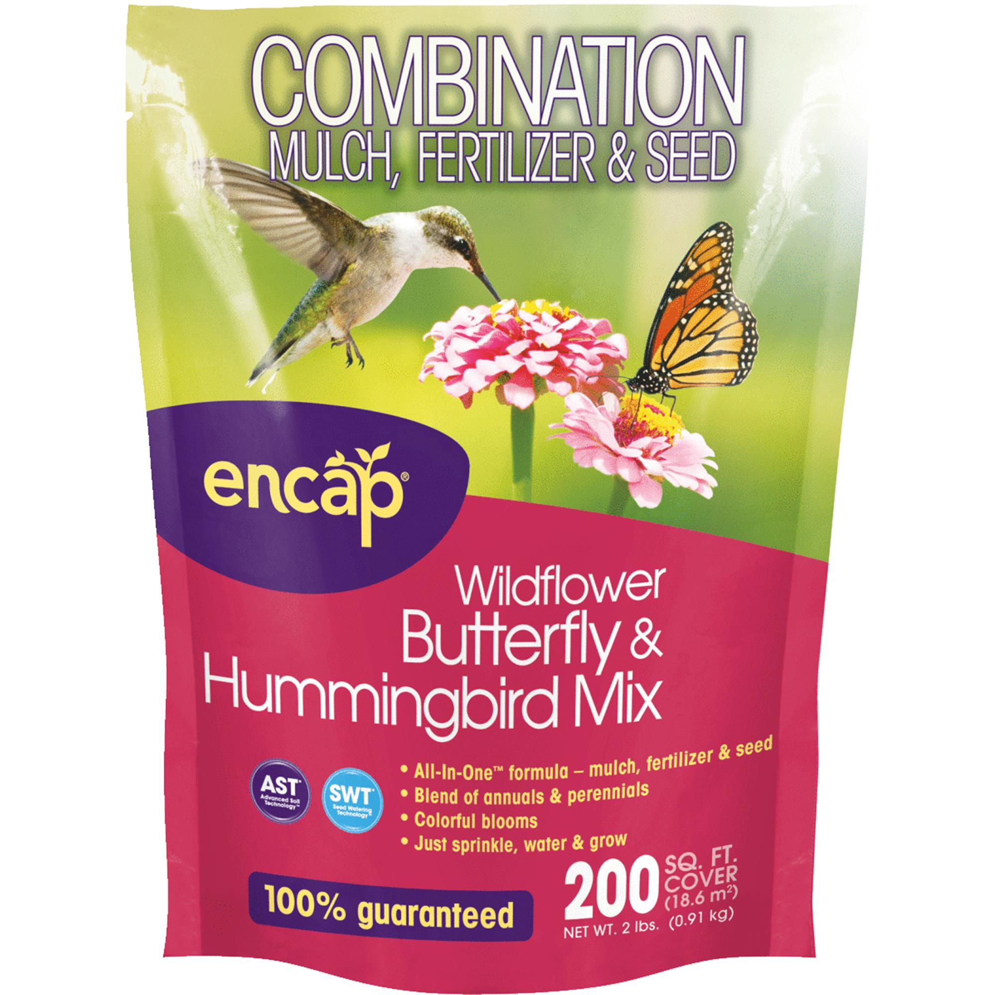 Encap All-In-One Butterfly & Hummingbird Wildflower Seed Mix
