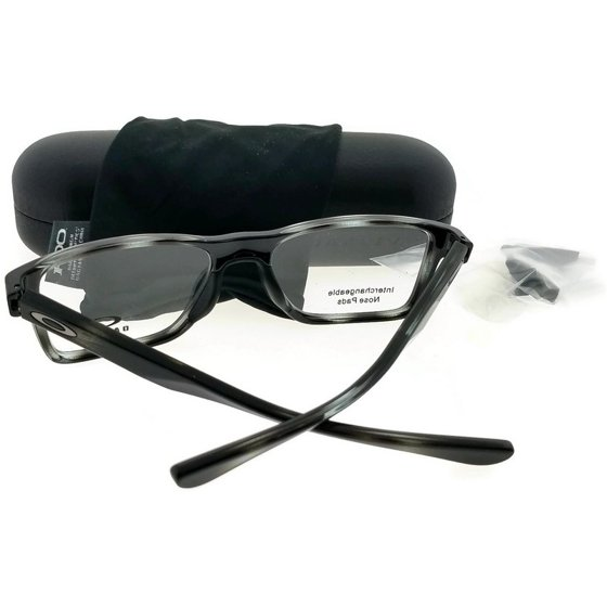 c038be1de7 Oakley 0OX8108 Fin Box Full Rim Rectangular Eyeglasses for Unisex - Size 55  - Walmart.com