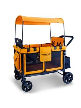 WonderFold Multi-Purpose Double Stroller Wagon
