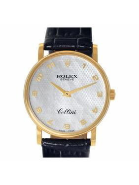 Pre-Owned Rolex Cellini 5115 Gold Women Watch (Certified Authentic & Warranty)