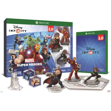 Disney Infinity  Marvel Super Heroes  2 0 Edition  Video Game Starter Pack  Xbox One