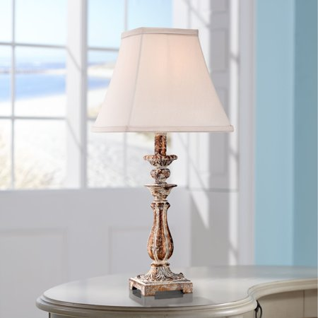 Regency Hill Cottage Accent Table Lamp 18 Quot High Distressed