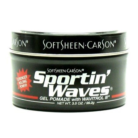 - Soft Sheen Sportin Waves 3.5 oz. Pomade Jar (3-Pack) with Free Nail File