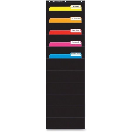 Scholastic Gr K-5 File Organizer Pocket Chart ()