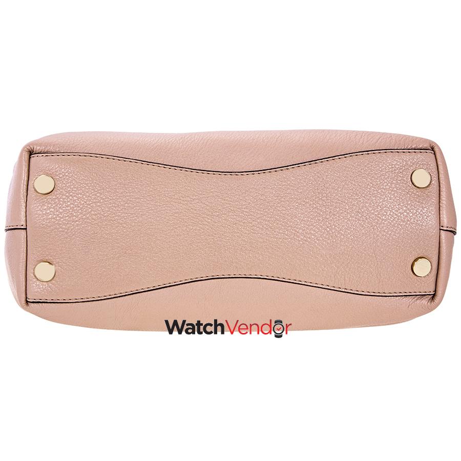1b651eafb7f1c Michael Kors Raven Large Leather Shoulder Bag - Fawn