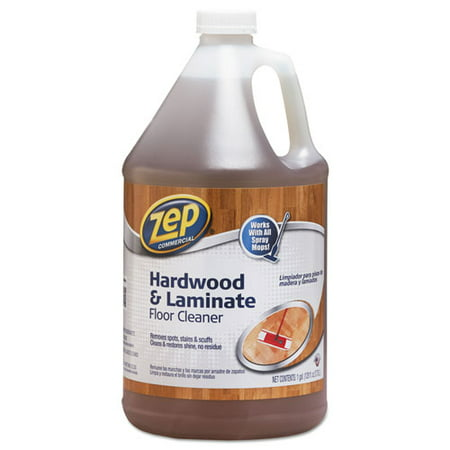 - Zep Commercial Hardwood Floor Cleaner, 1 gal