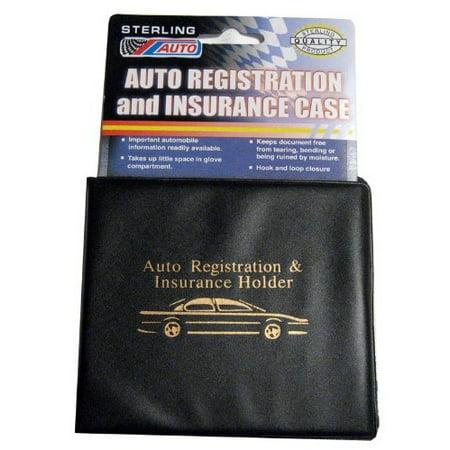 903 Id Club - 4 Auto Car Truck Registration Insurance Document Holder Wallet Case Id Card NEW