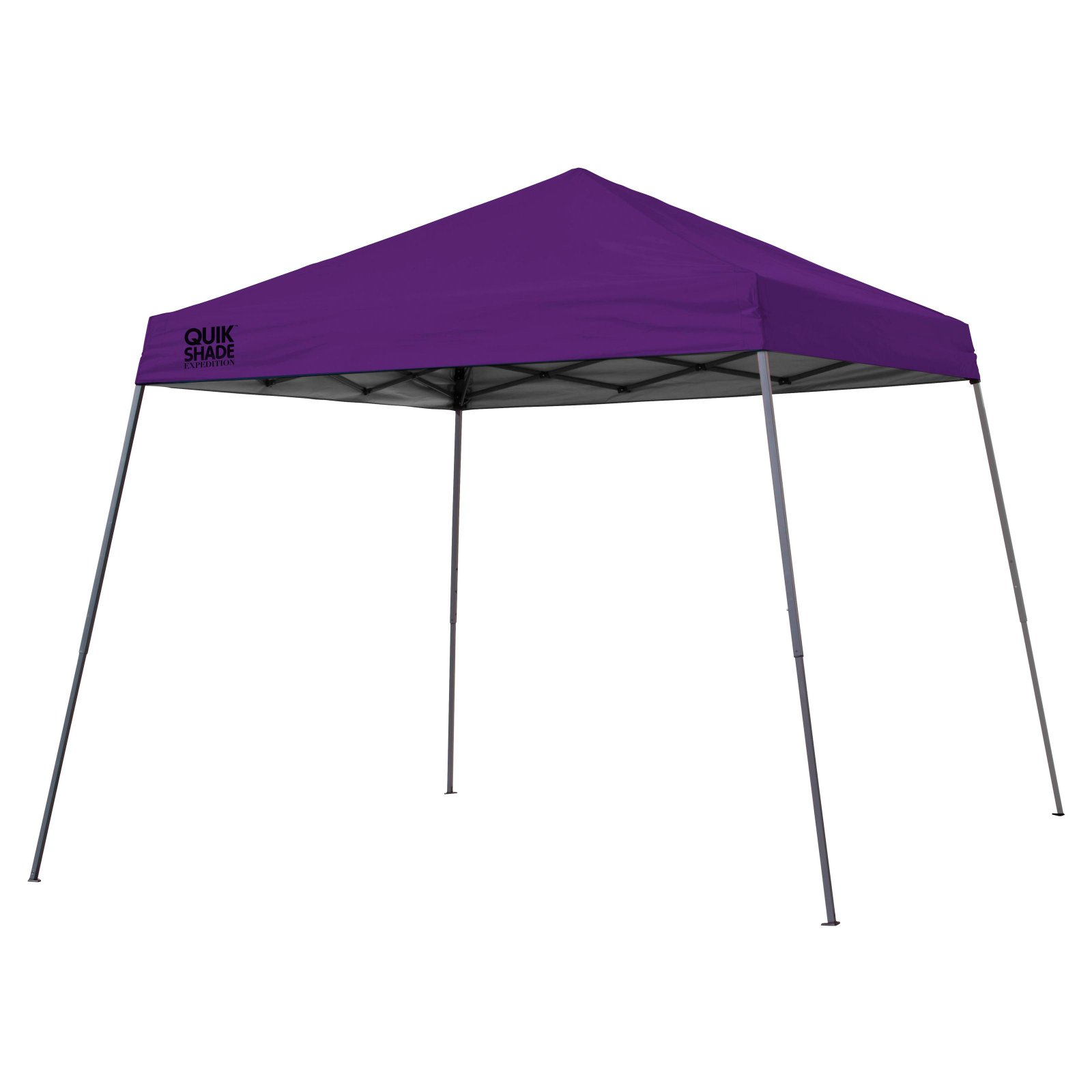 Quik Shade Expedition 10'x10' Slant Leg Instant Canopy (64 sq. ft. coverage)