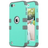 Pod Touch 6 Case,Pod Touch 5 Case,ULAK [Colorful Series] Hybrid Silicon Hard Case Cover for Apple Pod Touch 5 6th Generation