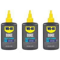 WD-40 BIKE 4 Ounce Wet and Muddy Condition Bike Chain Lubricant (3 Pack)