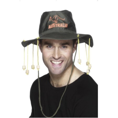Adults Australian Crocodile Dundee Kangaroo Hunter Hat Costume Accessory](Woolworths Australia Halloween)