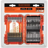 Deals on BLACK+DECKER BDA46SDDD 46 Piece Drilling & Screwdriving Set