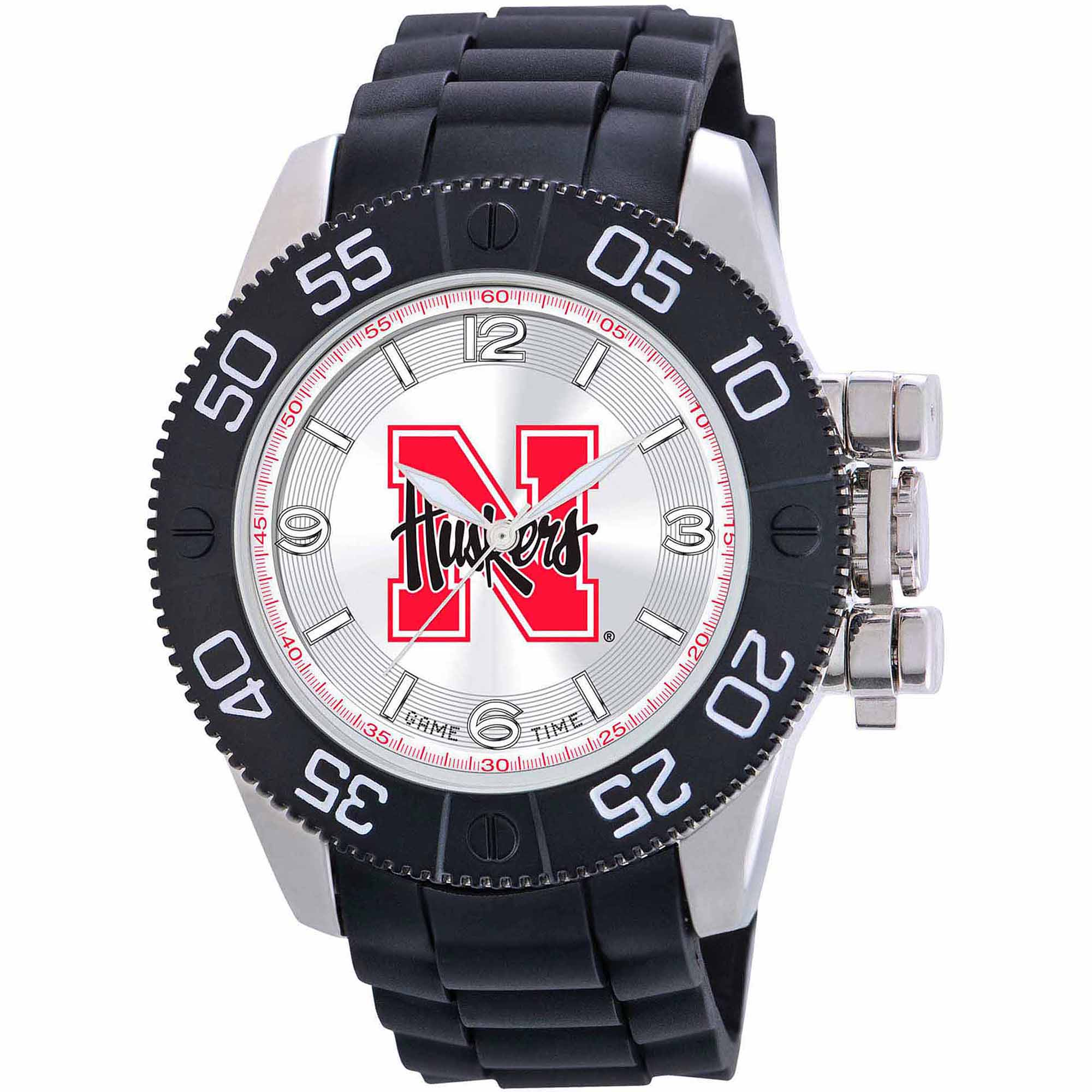 Game Time NCAA Men's University of Nebraska Cornhuskers Beast Series Watch