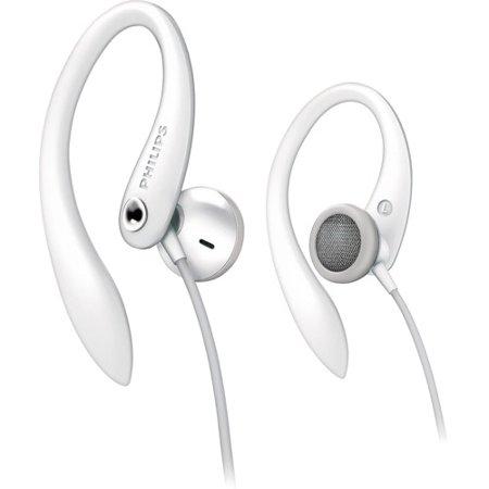 Philips Earhook Headphones, Purple - Walmart com