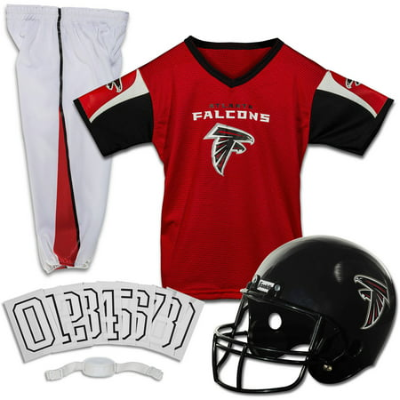 18993a21 Franklin Sports NFL Atlanta Falcons Youth Licensed Deluxe Uniform Set,  Small - Walmart.com