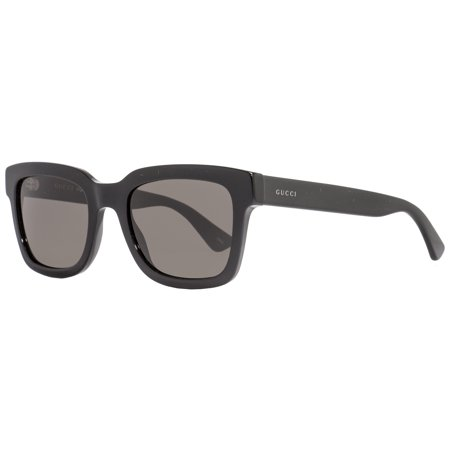 Gucci Rectangular Sunglasses GG0001S 001 Shiny Black 0001