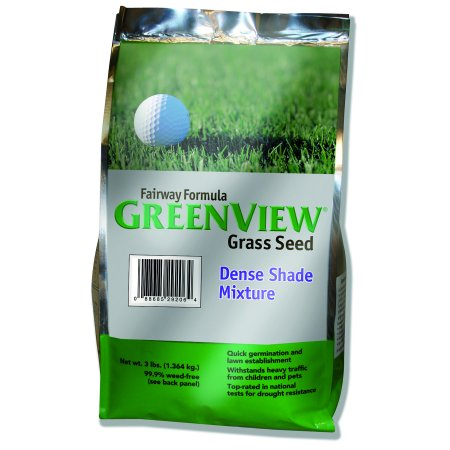 GreenView Fairway Formula Dense Shade Grass Seed Mixture, bag 3 lb. (Dense Shade Grass Seed)