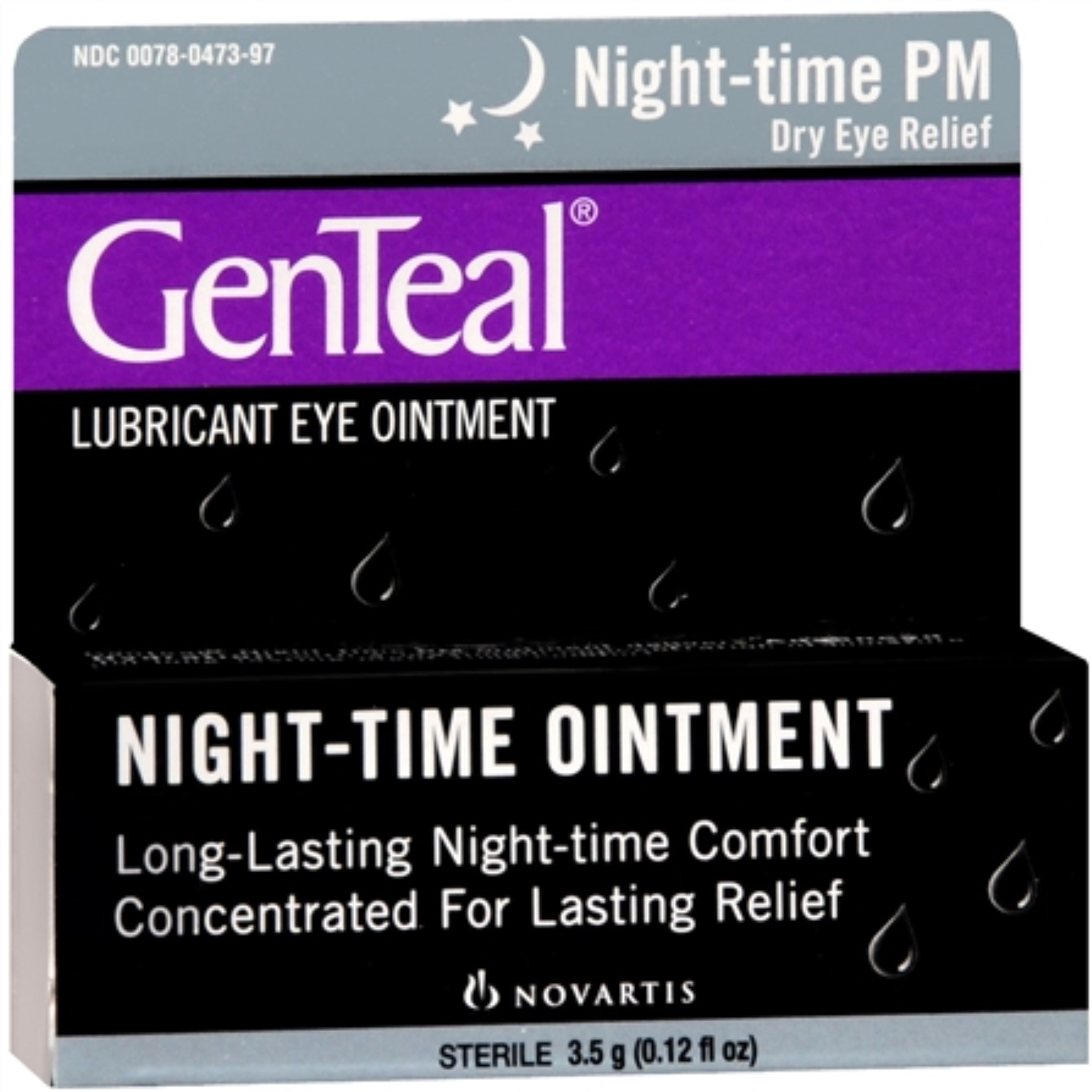 GenTeal PM Lubricant Eye Ointment 3.50 g (Pack of 3)