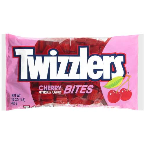 Twizzlers Cherry Candy Bites, 16 Oz