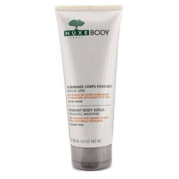 Nuxe Fondant Body Scrub  200ml/6.5oz Badger Company, Argan Face Oil, For All Skin Types, 1 fl oz(pack of 2)